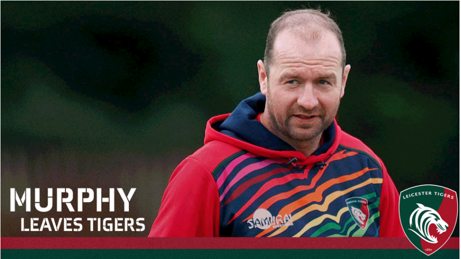 Murphy Leaves Leicester Tigers Huge Rugby News